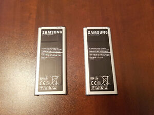 Used Samsung Note 4 with an Extra Battery Cambridge Kitchener Area image 5