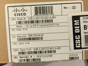 CISCO AIRONET ACCESS POINTS, NEW OPEN BOX