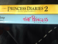 Princess diaries DVDs 1 and 2
