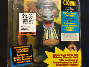 Scary Spawn Clown New poseable Action Figure Halloween Gift? $15