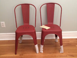 BRAND NEW Tolix Style Red Chairs Cambridge Kitchener Area image 1
