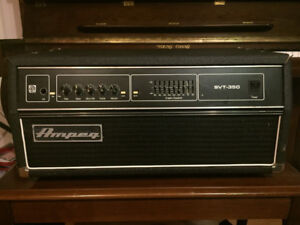 Ampeg SVT-350 Bass Amp Head (not working - parts,repair,project)