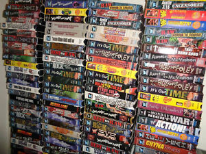 HUGE Wrestling Clearance Sale! WWE/TNA/WCW - VHS and DVD! London Ontario image 5