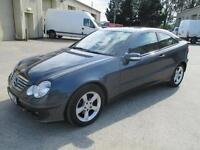 2007 Mercedes-Benz C200 2.1TD 2006MY SE euro 4 diesel coupe cd stereo 1 owner