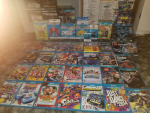 Wii U & Wii Games & Amiibo For Sale