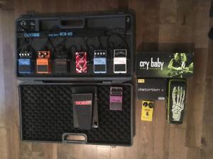 Pédale guitare Boss, MXR, Dunlop  et autres