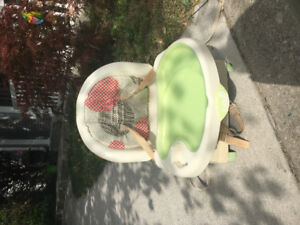 Safety 1st recline and grow  Feeding chair , highchair booster