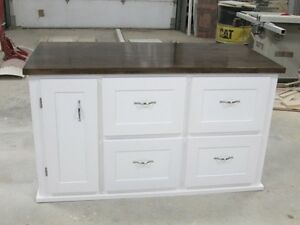 NEW CUSTOM BUILT KITCHEN ISLAND