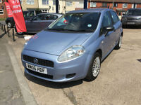 2006 Fiat Grande Punto 1.2 Active 66,000 mile good history HPI CLEAR