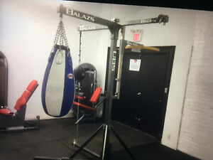 HOME GYM - Heavy Bag, Speed Bag, Co-ordination bag