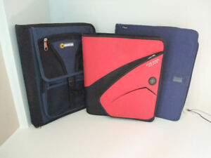 Zippered School Binders - $8 each or all 3 for $20