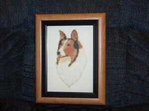 SMALL CROSS-STITCH DOG PICTURES