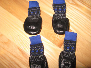 DOG BOOTS Socks for sale now $10.00   ------ BRAND NEW