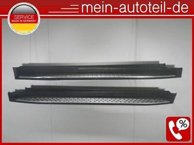 Mercedes W164 SET 63 AMG Trittbretter Seitenschweller R+L 197 Obsidianschwarz  D