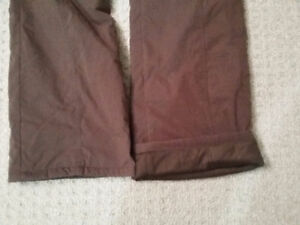 Women's lined brown winter pants Size Small New with tags London Ontario image 10