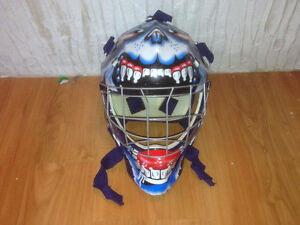 casque de gardien de but ITECH senior pour deck hockey