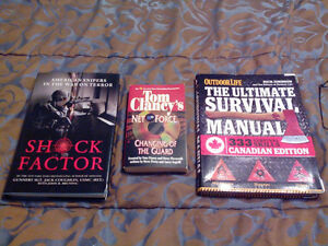War Books, Sports Books, Novels, Etc for Sale