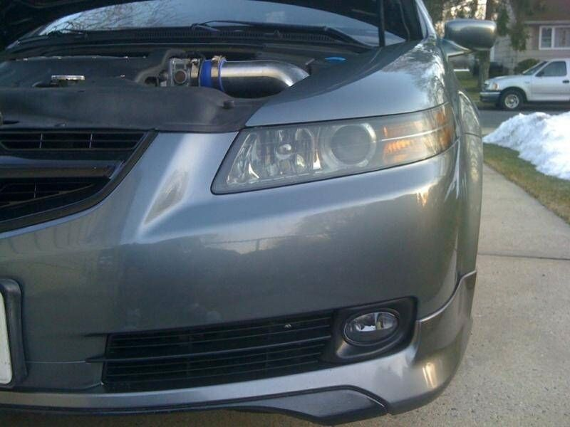 ACURA TL ASPEC FRONT LIP BODY KIT FOR Auto Body - 2005 acura tl front lip