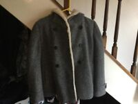 Zara Grey winter coat