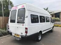 LDV 400 CONVOY TD LWB + TWIN WHEELS + HIGH ROOF + 17 SEATER