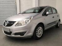 2009 Vauxhall Corsa 1.2i 16v Life Hatchback 5dr *** Full Years MOT *** Cheap Car