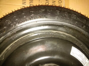 OEM Goodyear Honda Civic SPARE Tire T115/70D14 Kitchener / Waterloo Kitchener Area image 3