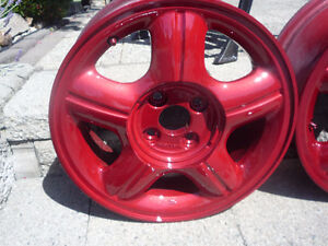 ForSale - OEM Set of 4 - Acura 1.6 EL - Alloy Rims