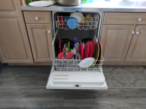 Basic White Dishwasher for $25 or Best offer