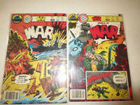 18 CHARLTON WAR COMICS