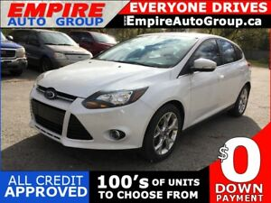 2013 FORD FOCUS TITANIUM * LEATHER * NAV * REAR CAM * SUNROOF *