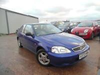 HONDA CIVIC LS 1.5 VETC PETROL AUTO 3 DOOR HATCHBACK