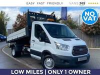 2016 Ford Transit 350 2.2TDCi 125PS MWB Tipper *NO VAT* Tipper Diesel Manual