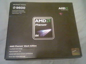 B.N.I.B. AMD Phenom Black Edition 9600 ( 2.3GHz Quad-Core ) Proc
