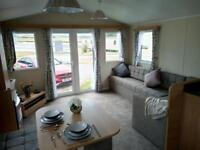 FOR SALE* STATIC CARAVAN*WILLERBY DESIRE on 12 MONTH PARK*MORECAMBE*