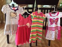 Lot  girl clothes size 4
