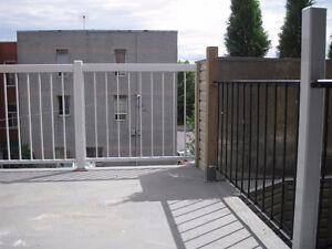 PETIT LOFT 3 1/2 montréal ville-Émard terrasse extérieure