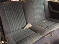Golf mk2 seats front and rear good condition no rios or tear can post