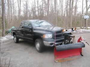 2004 Dodge Power Ram 2500 Pickup Truck with Plow