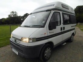 Auto Sleeper Harmony - 2 Berth - 4 Traveling Seats - Great Condition for Year