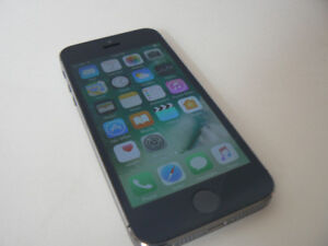 iphone 5s 16gb SPACE GRAY Unlocked,Freedom,Chatr,Rogers,Bell,Tel