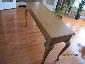 Solid Oak Sofa Table Sarnia Sarnia Area image 8