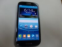 Samsung  Galaxy S3 s III   Bell or Virgin 16GB cell smart phone.