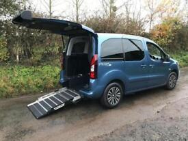2014 Peugeot Partner Tepee 1.6 120 S 5dr WHEELCHAIR ACCESSIBLE VEHICLE 5 door...