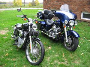 07 Street Glide and 06 Sportster Package Deal