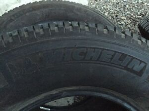 Brand new Michelin tires 275 70R 18's