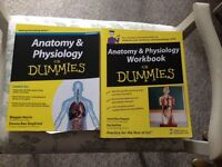 Anatomy and Physiology for dummies and workbook