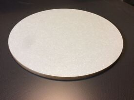 Brand new 60cm Diameter Formica Table Tops (18 off)