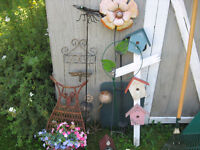 GARDEN TOOLS , LAWN DECOR & MORE