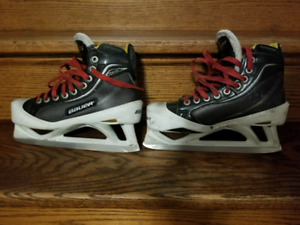 Bauer Supreme one100 junior goalie skates size 3