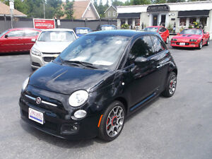 2014 Fiat 500 Sport Coupe (2 Dr) 4-New winter Tires